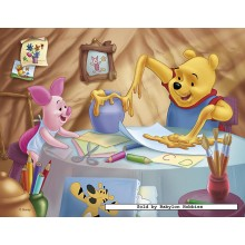 Jigsaw puzzle 30 pcs - Breakfast with Honey - Winnie The Pooh (by Nathan)