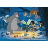 Jigsaw puzzle 100 pcs - Jungle Book 2 New Friends - Disney (by Nathan)