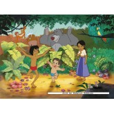 Jigsaw puzzle 150 pcs - Jungle Book 2 Mowgli and Ranjan - Disney (by Nathan)
