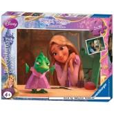 Jigsaw puzzle 20 pcs - Rapunzel - Disney (by Ravensburger)
