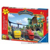 Jigsaw puzzle 20 pcs - Chuggington - Wilson, Brewster & Koko - Disney (by Ravensburger)