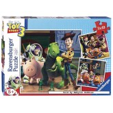 Jigsaw puzzle 49 pcs - Toy Story 3 Woody & Rex - Disney (by Ravensburger)