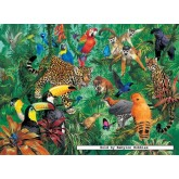 Jigsaw puzzle 300 pcs - Wild Jungle (by Ravensburger)