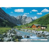 Jigsaw puzzle 1000 pcs - Karwendel Mountains, Austria (by Ravensburger)