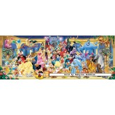 1000 pcs - Disney Group Picture - Panorama (by Ravensburger)