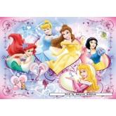 Jigsaw puzzle 125 pcs - Happy Princess - Disney (by Ravensburger)