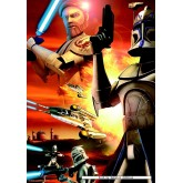 Jigsaw puzzle 70 pcs - The Clone Wars (2x) - Star Wars (by Jumbo)