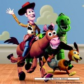 Jigsaw puzzle 16 pcs - Pixar Toy Story incl stickers - Disney (by Jumbo)