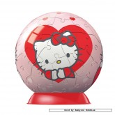 60 pcs - Hello Kitty - Puzzleball Junior (by Ravensburger)