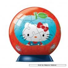 Jigsaw puzzle 60 pcs - Hello Kitty - Puzzleball Junior (by Ravensburger)