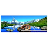 Jigsaw puzzle 1000 pcs - Matterhorn, Alps - Panorama (by Educa)