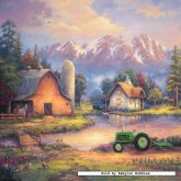 Jigsaw puzzle 1000 pcs - Reflections at Day's End - Square (by Masterpieces)