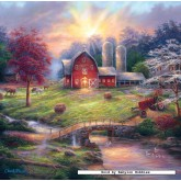 Jigsaw puzzle 1000 pcs - Anticipation of the Day Ahead - Geoffery Tristram (by Masterpieces)