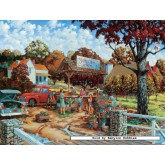 Jigsaw puzzle 750 pcs - Stone Creek Farm  - William Kruetz (by Masterpieces)
