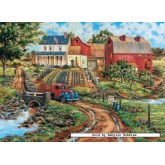Jigsaw puzzle 1000 pcs - Grandma's Garden  - William Kruetz (by Masterpieces)