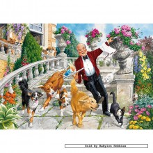 Jigsaw puzzle 250 pcs - Cocktail Calamity - John Francis (by Gibsons)