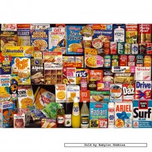 Jigsaw puzzle 250 pcs - 1970s Shopping Basket Tin - Collector Tins (by Gibsons)