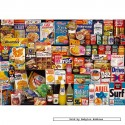 250 pcs - 1970s Shopping Basket Tin - Collector Tins (by Gibsons)