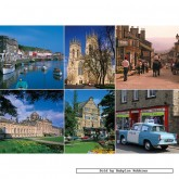 Jigsaw puzzle 1000 pcs - Yorkshire (by Gibsons)