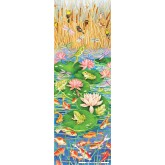 Jigsaw puzzle 500 pcs - Playful Pond - Vertical (by Masterpieces)