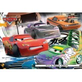 Jigsaw puzzle 20 pcs - Cars Lightning McQueen D.J. Wingo - Disney (by Ravensburger)
