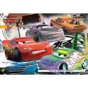 20 pcs - Cars Lightning McQueen D.J. Wingo - Disney (by Ravensburger)