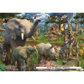 Jigsaw puzzle 18000 pcs - At the Waterhole (by Ravensburger)