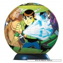 108 pcs - Ben 10 Alien Force - Puzzleball Junior (by Ravensburger)