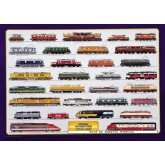 Jigsaw puzzle 1000 pcs - MODERN LOCOMOTIVES (by Ricordi)