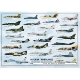 Jigsaw puzzle 1000 pcs - Modern Warplanes (by Ricordi)