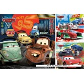 49 pcs - Cars 2 (3x) - Disney (by Ravensburger)