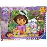 24 pcs - Dora the Explorer - Floor puzzles (by Ravensburger)