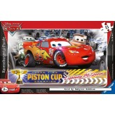 Jigsaw puzzle 15 pcs - Disney Cars - Frame puzzles (by Ravensburger)