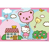 Jigsaw puzzle 20 pcs - Hello Kitty (2x) - Hello Kitty (by Ravensburger)