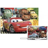 20 pcs - Cars 2 (2x) - Disney (by Ravensburger)