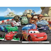 100 pcs - Cars 2 - Disney (by Ravensburger)