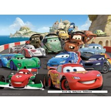 Jigsaw puzzle 100 pcs - Cars 2 - Disney (by Ravensburger)