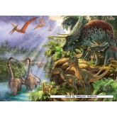 Jigsaw puzzle 300 pcs - Extinct Giants - XXL (by Ravensburger)