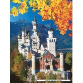Jigsaw puzzle 1500 pcs - Neuschwanstein in Fall (by Ravensburger)