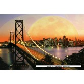 Jigsaw puzzle 3000 pcs - San Francisco at Night (by Ravensburger)