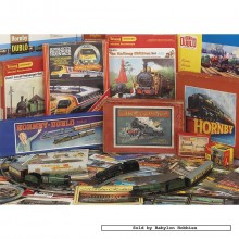Jigsaw puzzle 1000 pcs - Hornby - Through the Ages (by Gibsons)