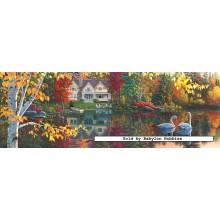 Jigsaw puzzle 1000 pcs - Autumn Grace - Kim Norlien (by Masterpieces)
