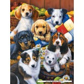 Jigsaw puzzle 750 pcs - Country Bumpkins - Jenny Newland (by Masterpieces)