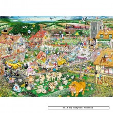Jigsaw puzzle 1000 pcs - Mike Jupp - I Love Spring - Mike Jupp (by Gibsons)