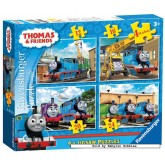 12 pcs - Thomas & Friends - Progressive (by Ravensburger)