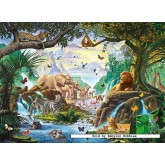 500 pcs - Animals Gathering - Starline (by Ravensburger)