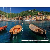 1000 pcs - Harbor in Portofino Italy (by Ravensburger)