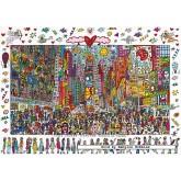 1000 pcs - Times Square - James Rizzi (by Ravensburger)