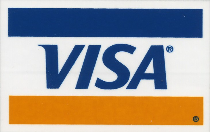 VISA logo Mastercard logo Ogone